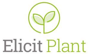 elicit plant logo vertical couleur